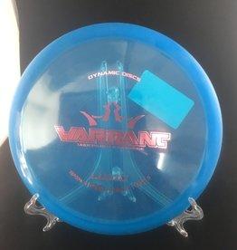 Dynamic Discs Dynamic Warrant Lucid Blue 169g 5/5/-2/0