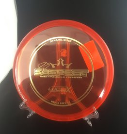 Dynamic Discs Dynamic Suspect Lucid-X Red 176g 4/3/0/3