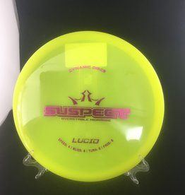 Dynamic Discs Dynamic Suspect Lucid Yellow 173g 4/3/0/3