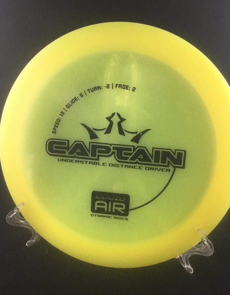 Dynamic Discs Dynamic Captain Lucid Air Yellow 161g 13/5/-2/2