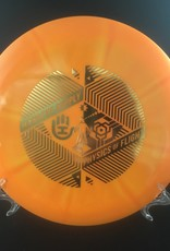 Dynamic Discs Dynamic Trespass Fuzion Burst Light Orange 173g 12/5/-0.5/3