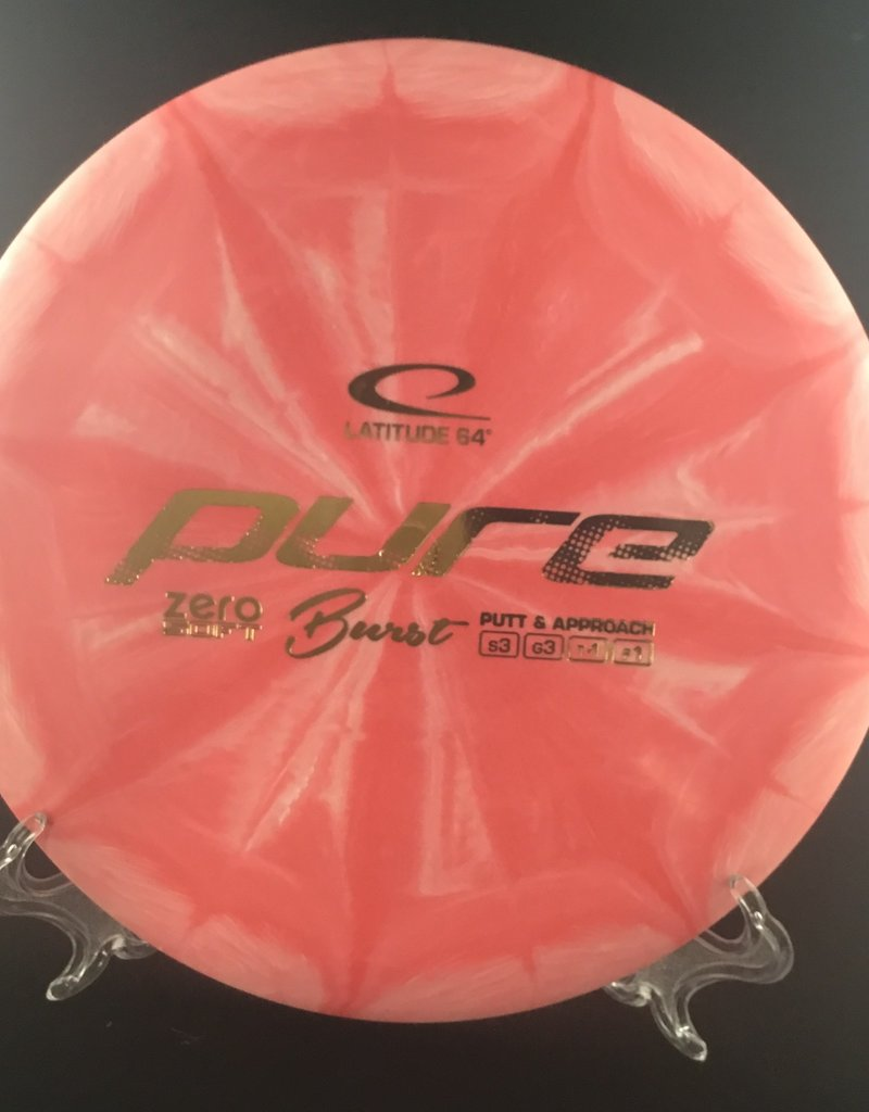 Latitude64 Pure Burst Pink Zero Soft 173g 3/3/-1/1