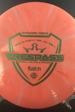 Dynamic Discs Dynamic Trespass Fuzion Burst Pink 172g 12/5/-0.5/3