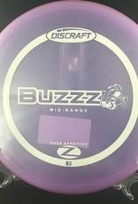 Discraft ZFlx Buzzz Translucent Light Purple 173-174g 5/4/-1/0.5
