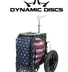 zuca Zuca Dynamic Discs Compact Cart American Star stripes