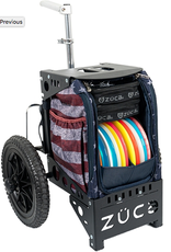 zuca Zuca Dynamic Discs Compact Cart American Star stripes