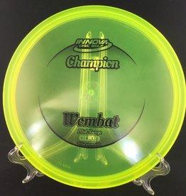 Innova Innova Champion Wombat Translucent Yellow 180g 5/6/-1/0