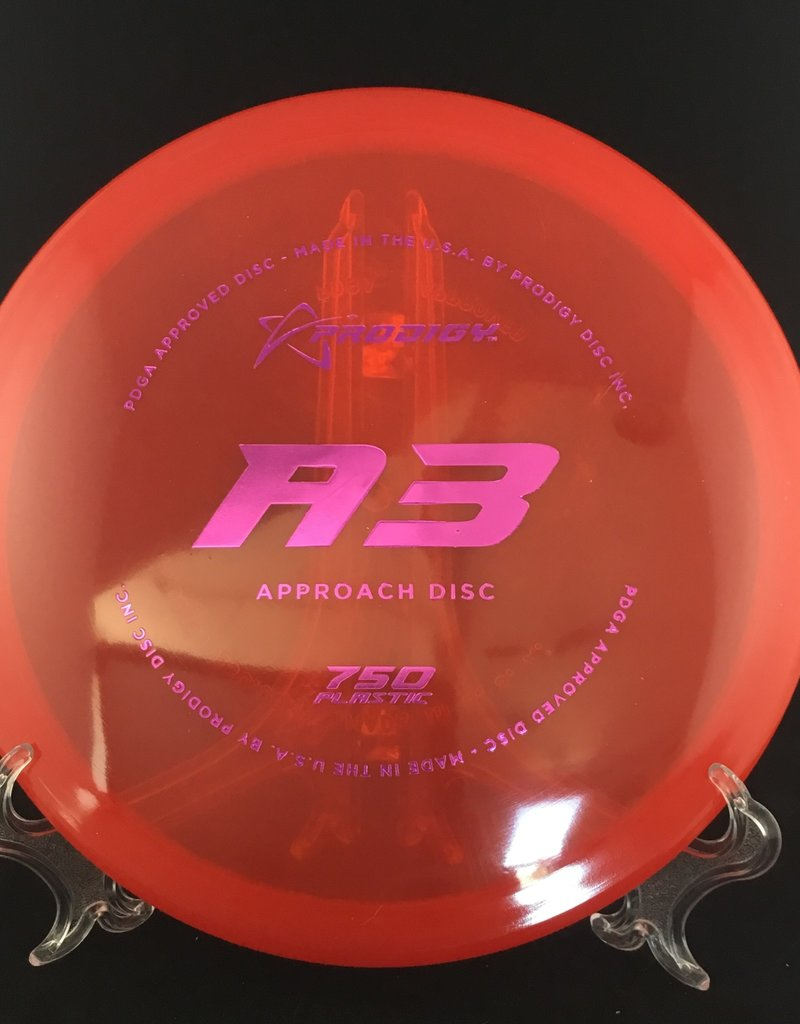 Prodigy Prodigy A3 750 Plastic Translucent Red 174