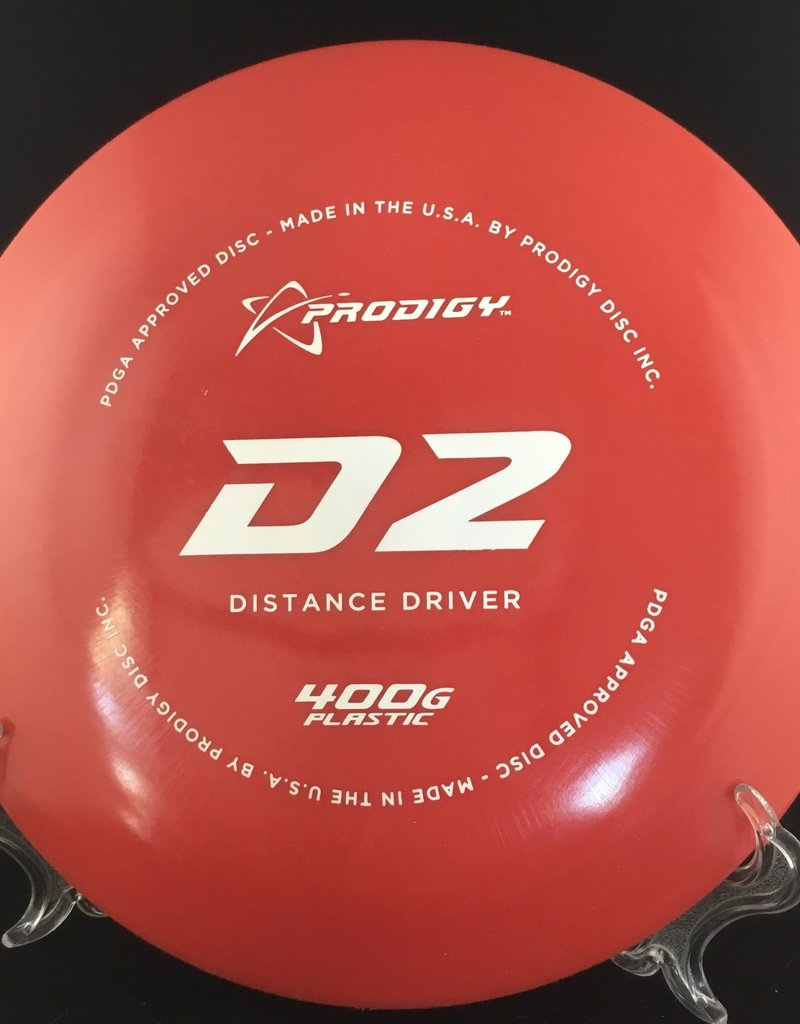 Prodigy Prodigy D2 400G Plastic Red 174