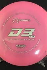 Prodigy Prodigy D3Max 400G Plastic Pink 174