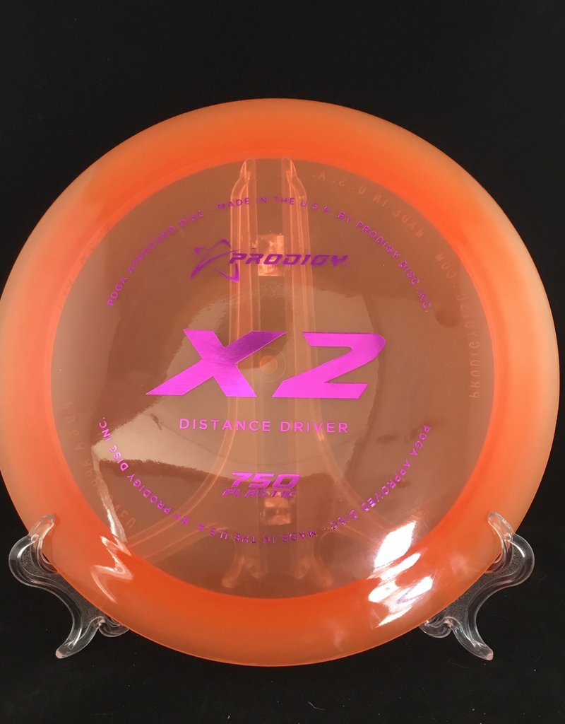 Prodigy Prodigy X2 750 Plastic Translucent Orange 174