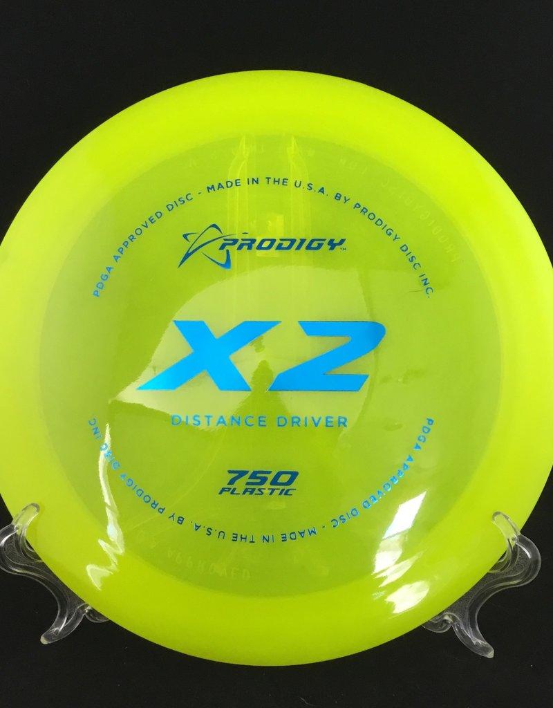 Prodigy Prodigy X2 750 Plastic Translucent Yellow 174