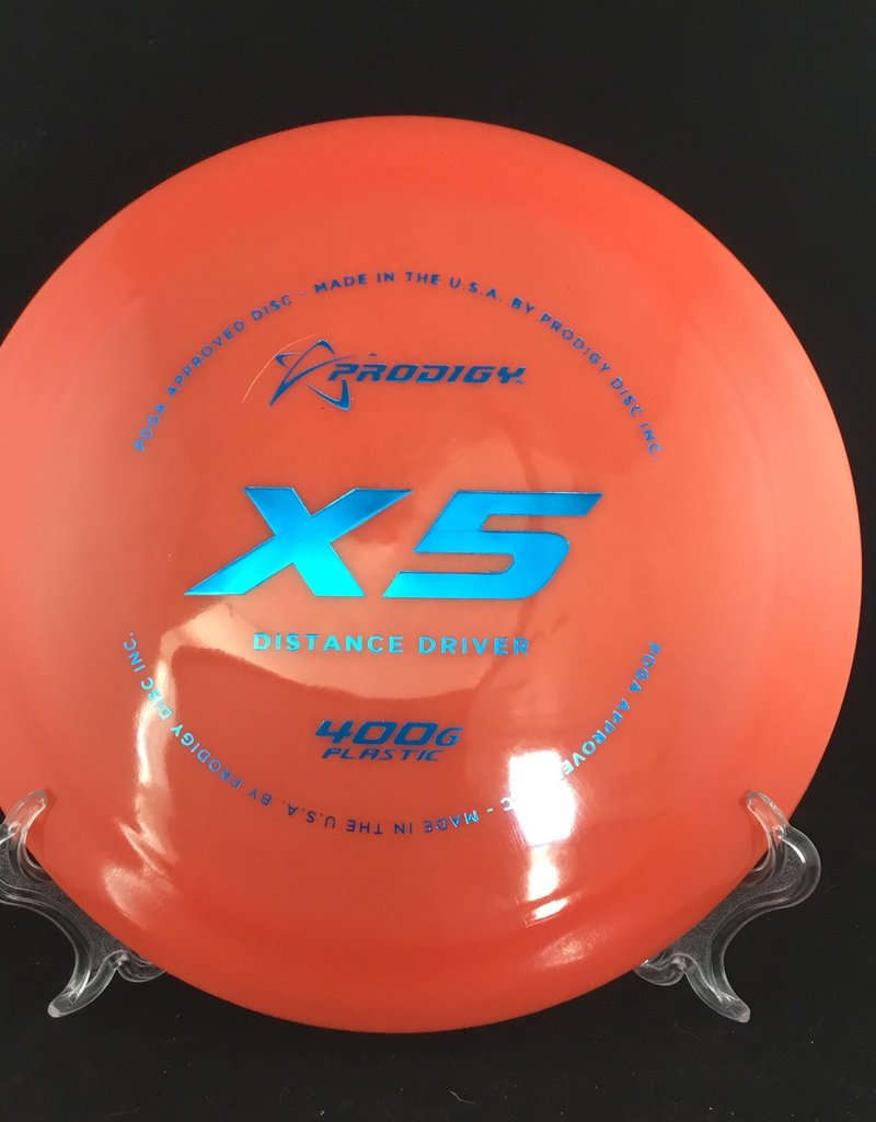 Prodigy Prodigy X5 400G Plastic Red 174