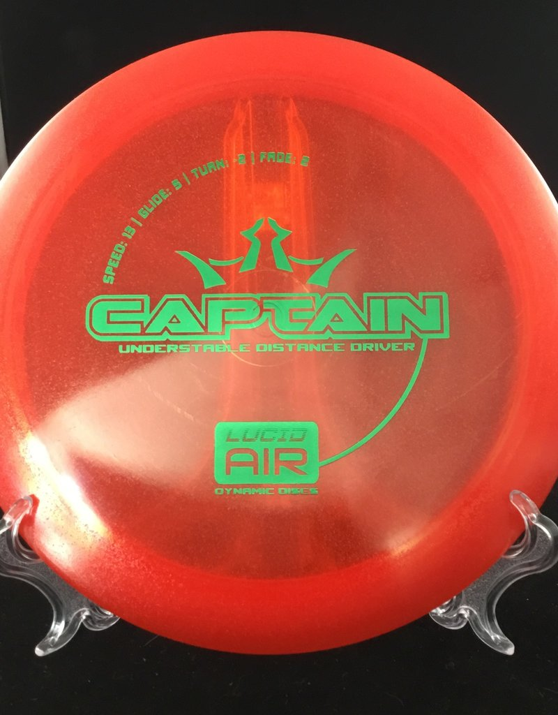 Dynamic Discs Dynamic Captain Lucid Air Red 161g 13/5/-2/2