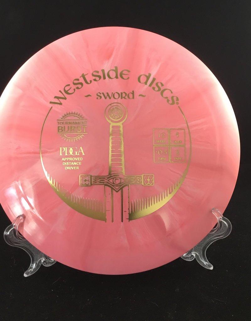 Westside Discs Westside Sword Tournament Burst Pink 173g 12/5/-0.5/2