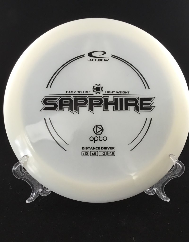 Latitude 64 Sapphire Opto white 156g 10/6/-2/1.5