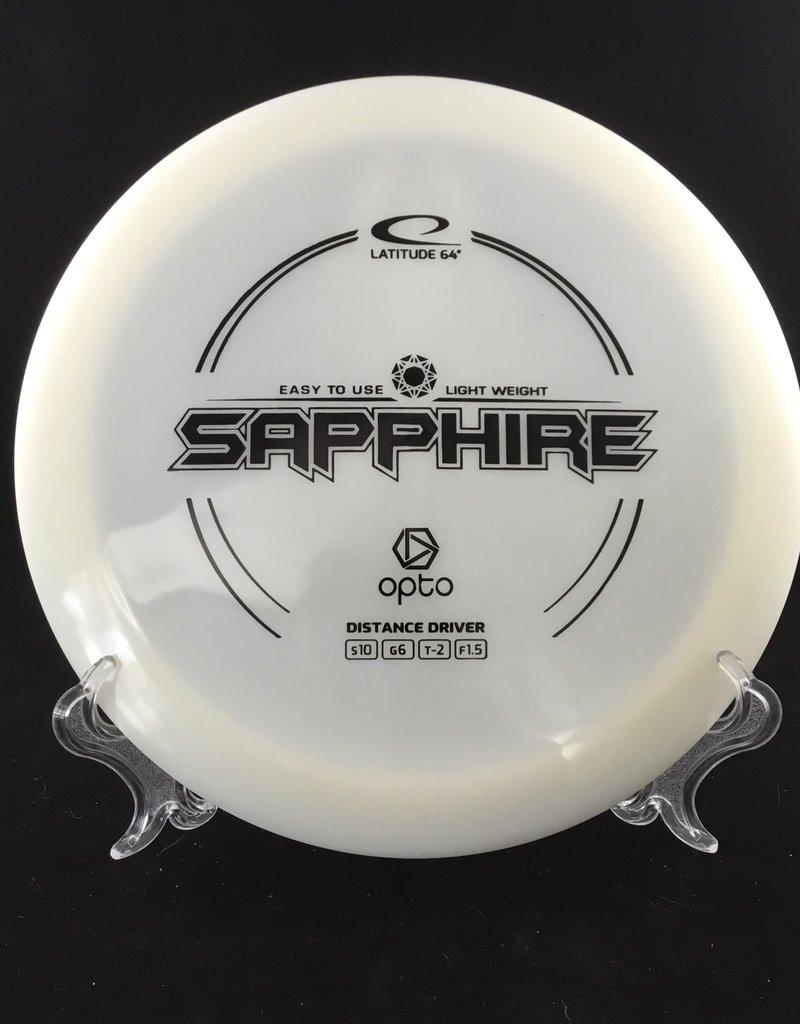 Latitude 64 Sapphire Opto white 158g 10/6/-2/1.5