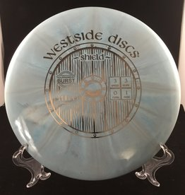 Westside Discs Westside Shield Tournament Burst Blue 174g 3/3/0/1