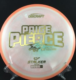 Discraft Paige Pierce ESP Stalker Orange swirl 175g 7/5/-1/2