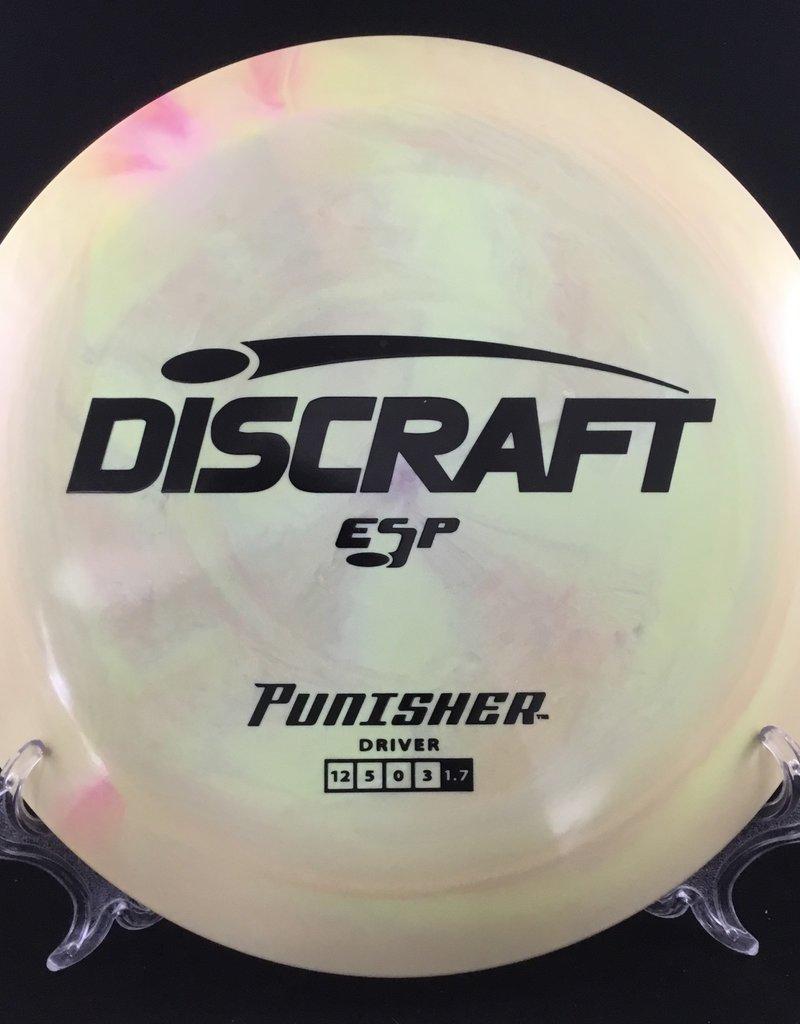 Discraft Punisher ESP Yellow 168g 12/5/0/3