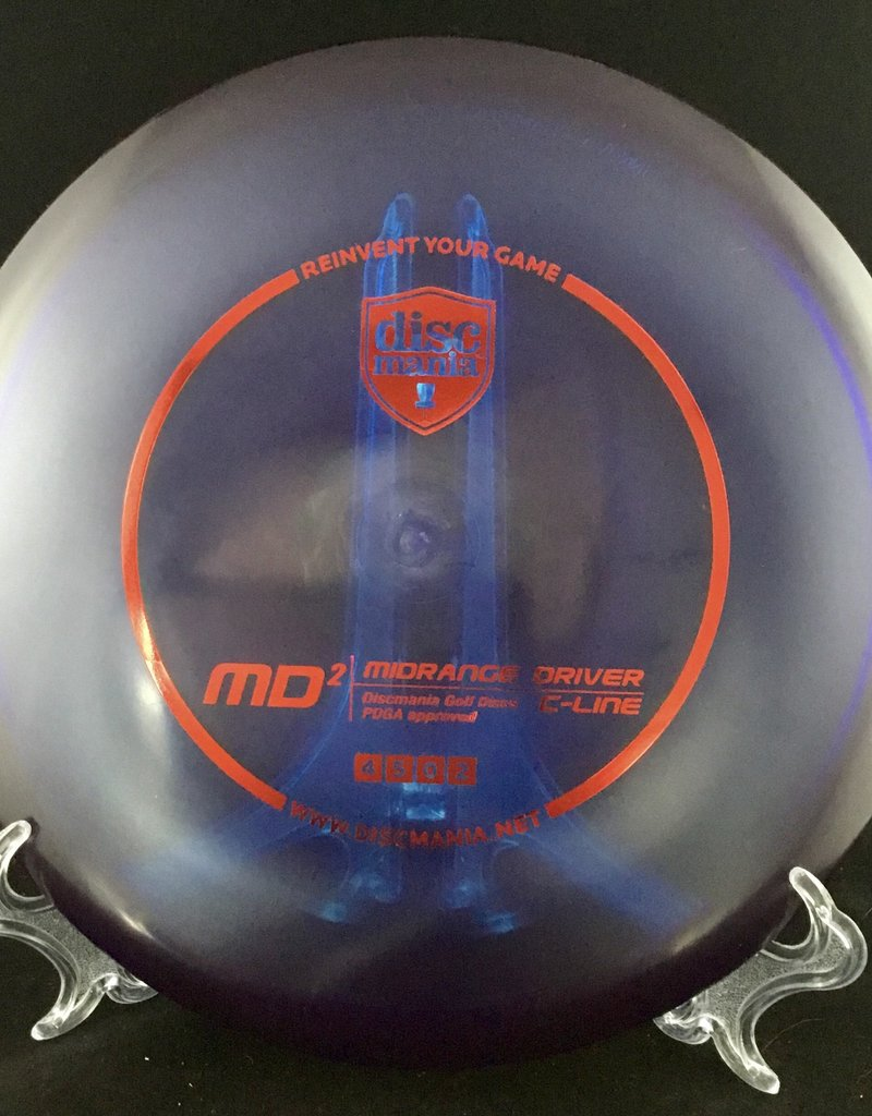 Discmania MD2 C-Line Translucent Dark Blue 175g 4/5/0/2