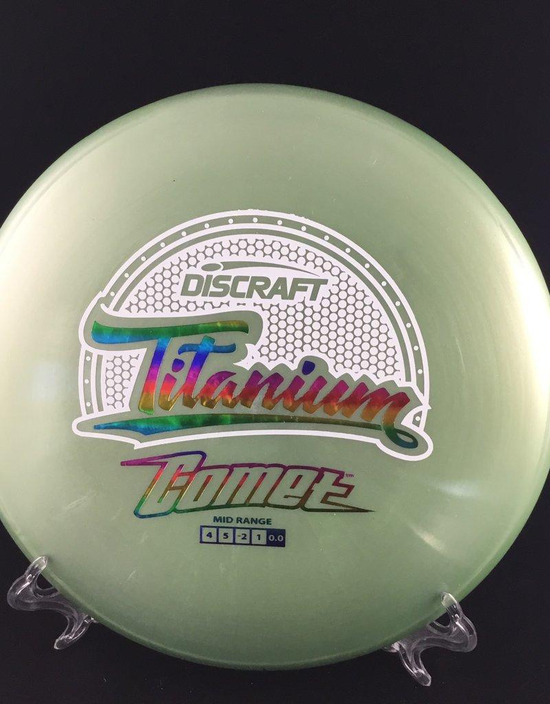 Discraft Titanium Comet Green 171g 4/5/-2/1
