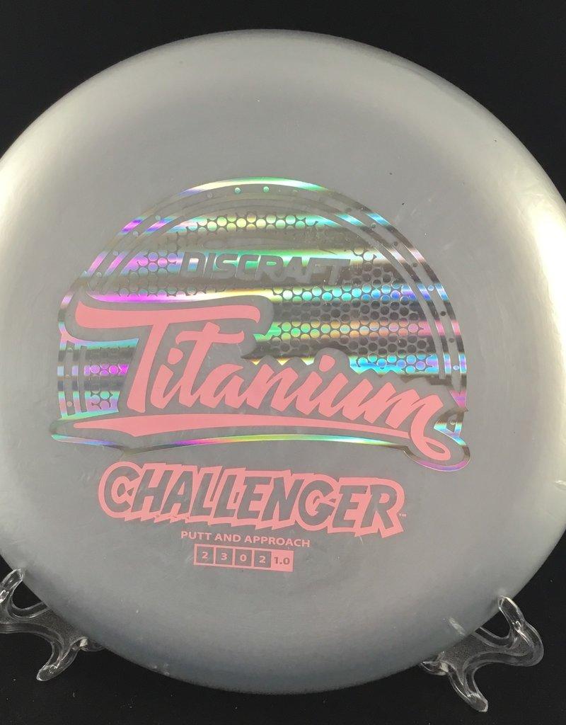 Discraft Challenger Titanium Grey 168g 2/3/0/2