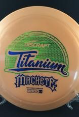 Discraft Titanium Machete Orange 174g 11/4/0/4