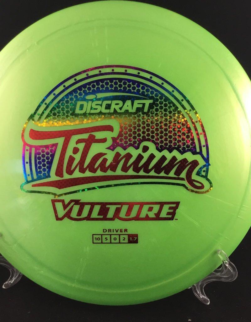 Discraft Titanium Vulture Green 171g 10/5/0/2