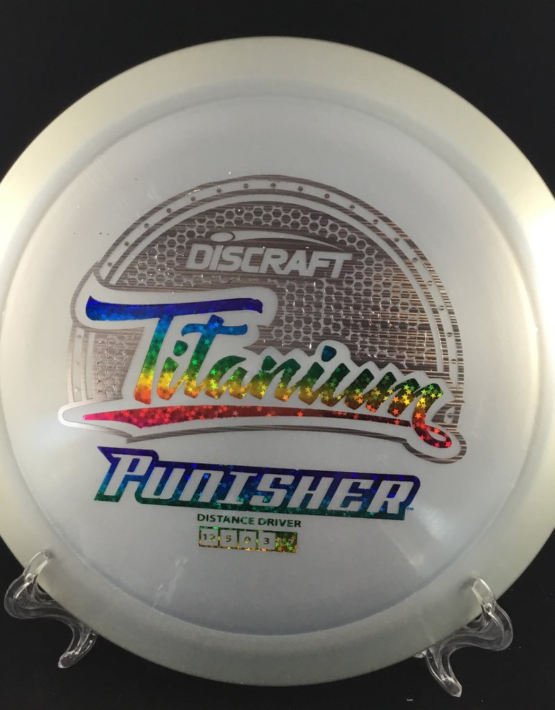 Discraft Titanium Punisher Silver 171g 12/5/0/3