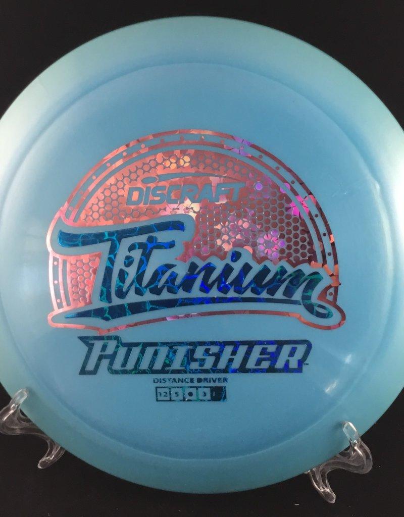 Discraft Titanium Punisher Blue 168g 12/5/0/3