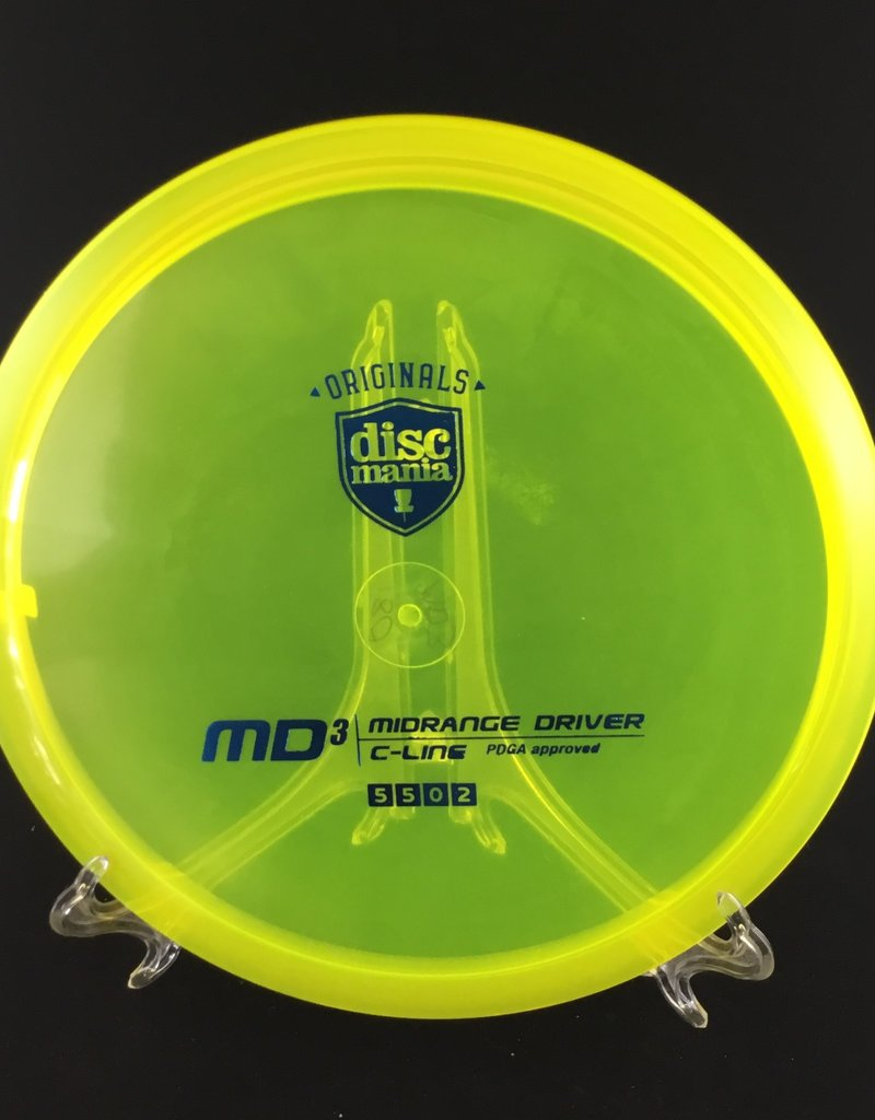 Discmania Discmania MD3 C-Line Yellow 180g 5/5/0/2