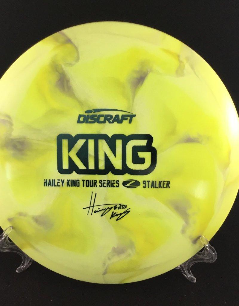 Discraft Hailey King Z Stalker Yellow Swirl 174g 7/5/-1/2