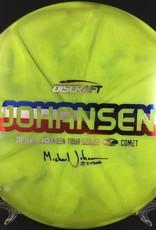 Discraft Tour Michael Johansen Z Comet Green 178g 4/5/-2/1
