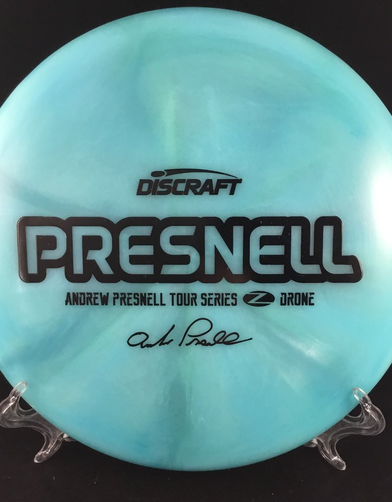 Discraft Andrew Presnell Signature Series Drone Z Blue 178g 5/3/1/4