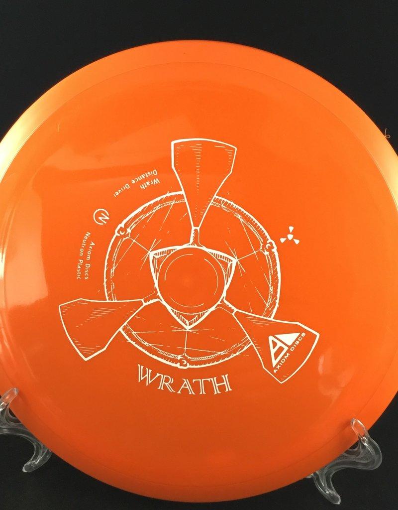 Axiom Discs Axiom Wrath Neutron Orange 154g 9/4.5/-0.5/2