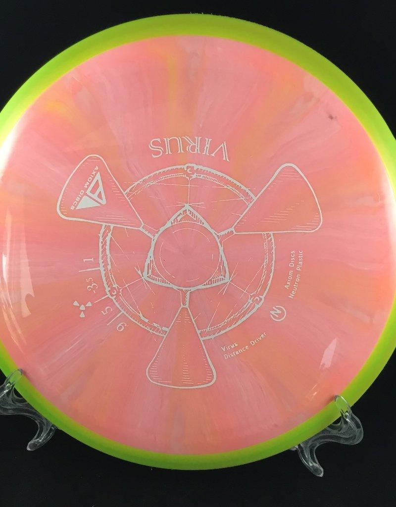 Axiom Discs Axiom Virus Neutron Pink 157g 9/5/-3.5/1