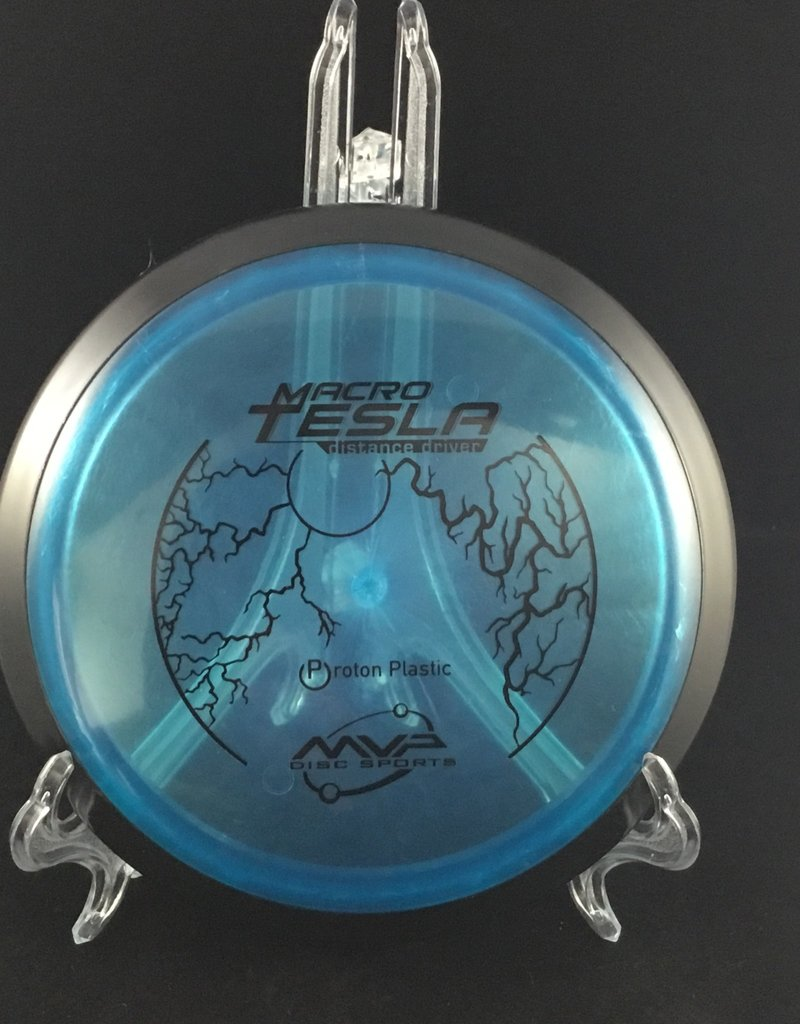 MVP Disc Sports MVP Tesla Proton Macro Blue Mini