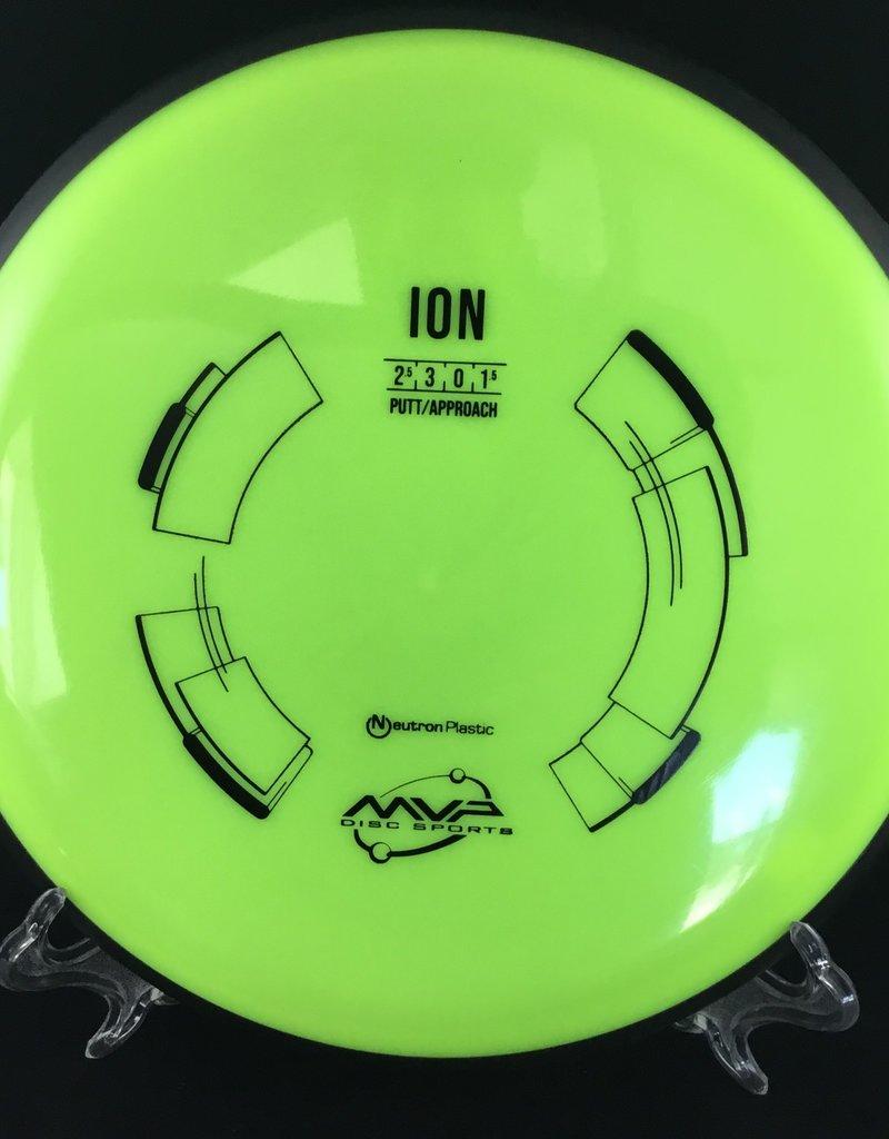 MVP Disc Sports MVP Ion Neutron Dayglo Green 161g 2.5/3/0/1.5