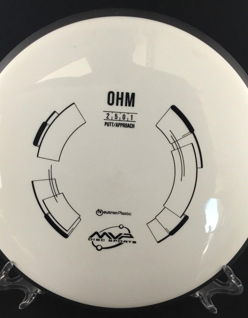 MVP Disc Sports MVP OHM Neutron White 169g 2/5/0/1