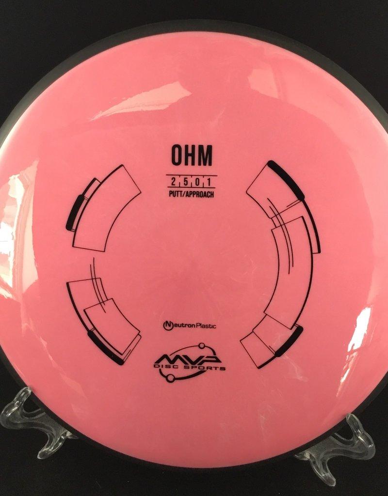 MVP Disc Sports MVP OHM Neutron Pink 172g 2/5/0/1