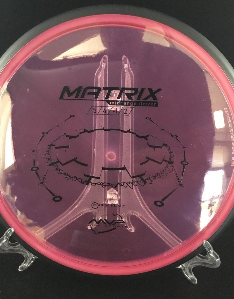 MVP Disc Sports MVP Matrix Protron Pink 169g 5/4/-1/2