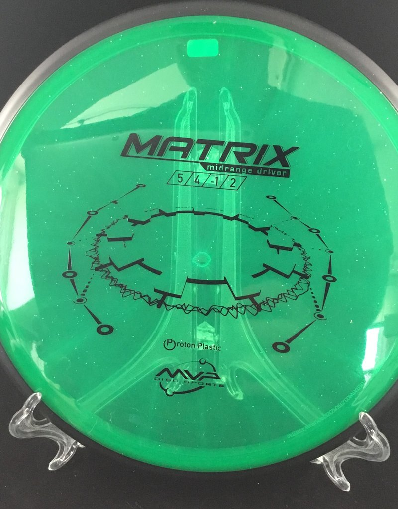MVP Disc Sports MVP Matrix Protron Green 171g 5/4/-1/2