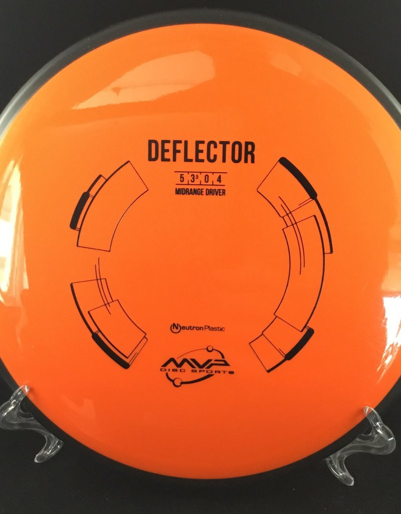 MVP Disc Sports MVP Deflector Neutron Orange 176g 5/3.5/0/4