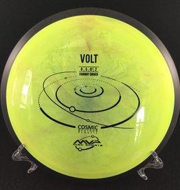 MVP Disc Sports MVP Volt Cosmic Neutron Yellow Swirl 170g 8/5/-1/2