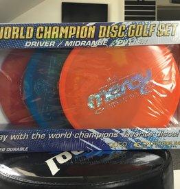 Dynamic Discs Latitude 64 Retro World Champion Starter Set
