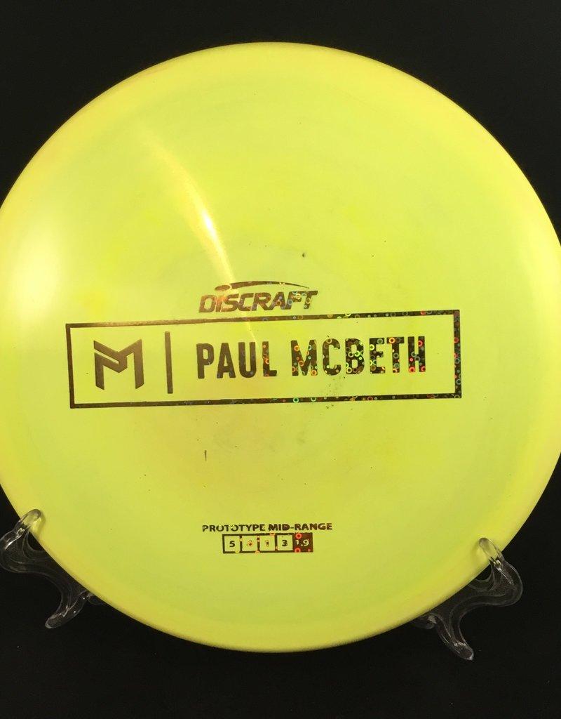 Discraft Paul McBeth Prototype Midrange