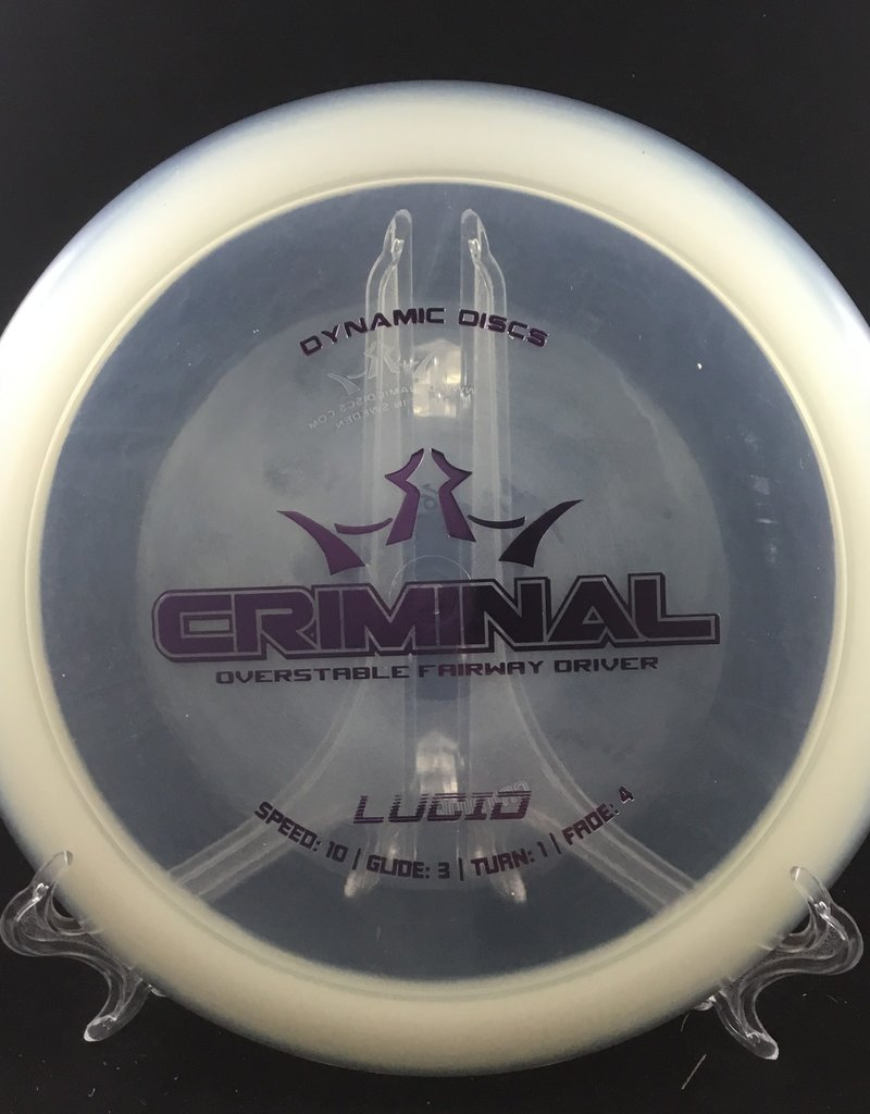 Dynamic Discs Dynamic Criminal