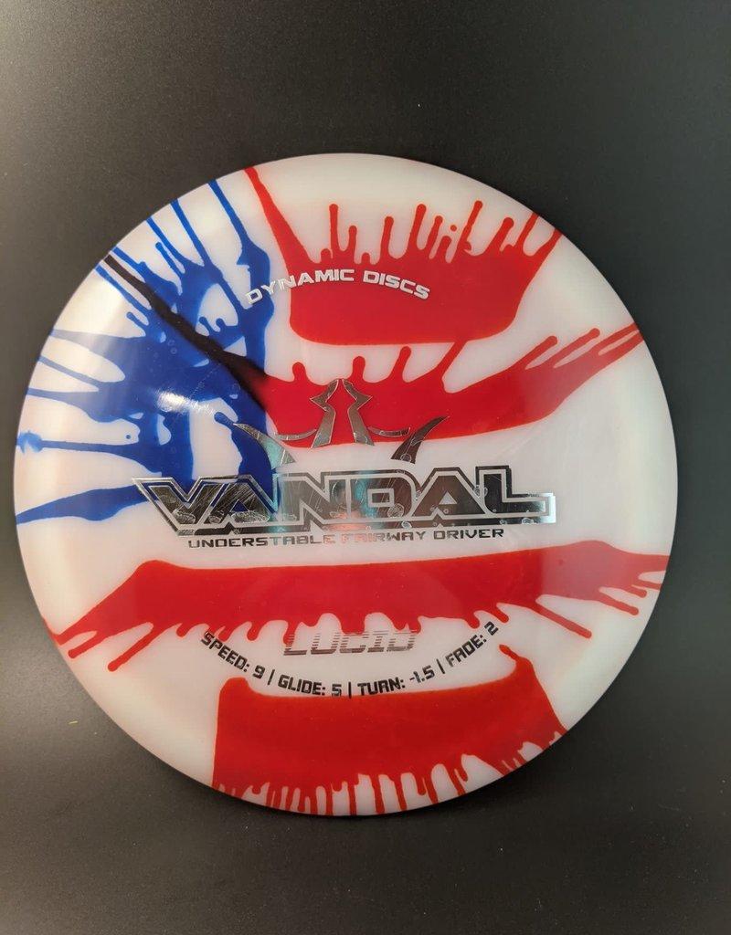Dynamic Discs Dynamic Discs My Dye Lucid US Flag Vandal
