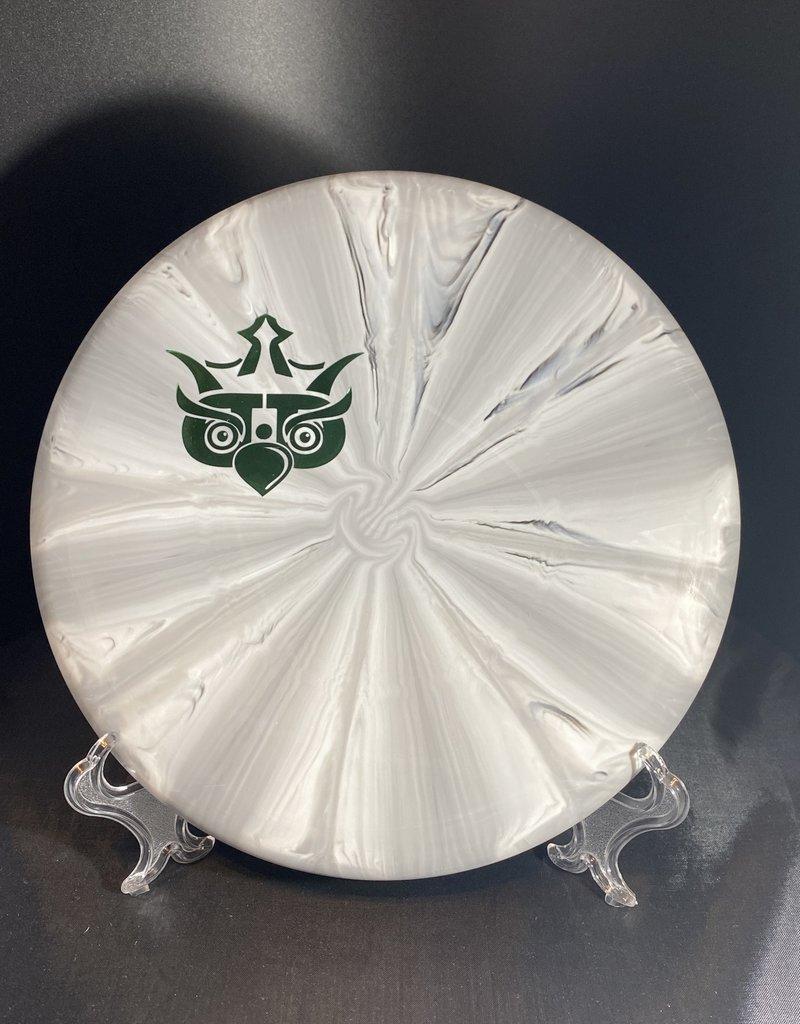 Dynamic Discs Dymanic Disc Classic Burst  Warden Owl Stamp